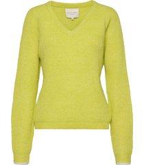aliza jumper stickad tröja gul lollys laundry