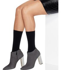 hanes women's 2-pk. opaque mid-calf socks