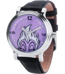 disney villains ursula women's silver vintage alloy watch 38mm