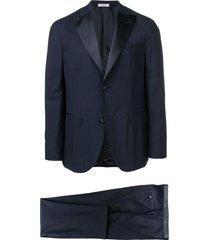 boglioli two-piece formal suit - blue