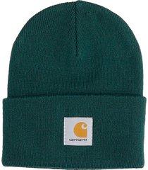 carhartt hat logo hats in green acrylic