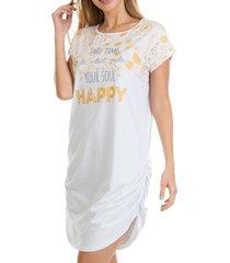 camisetão zee rucci happiness branco
