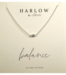 women's harlow by nashelle balance bead boxed necklace