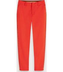 scotch & soda tailored stretch trousers