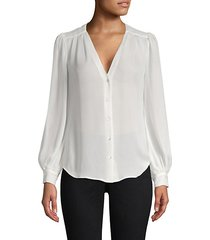 giana silk blouse
