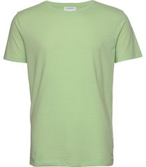 neps structure tee s/s t-shirts short-sleeved grön lindbergh