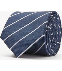 krawat pasek granatowy 100