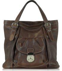 robe di firenze designer handbags, dark brown italian leather tote