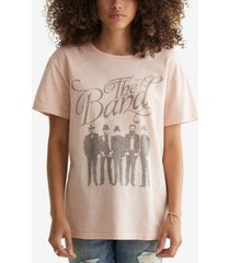 lucky brand the band cotton t-shirt