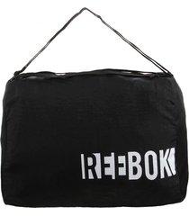 bolso negro reebok w found grip