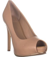 zapato de tacón honora2 para mujer guess - beige  con envio gratis