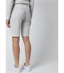 polo ralph lauren men's 40/01 waffle knit shorts - english heather - xl