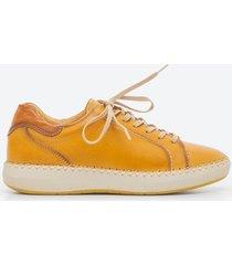 zapato casual mujer pikolinos z1db amarillo