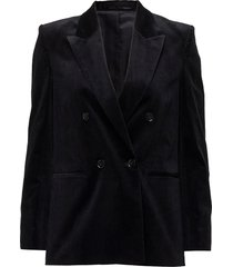 katie cord jacket blazer colbert zwart filippa k