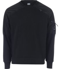 mens crew neck fleece sweatshirt