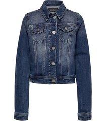 jimbis jacket outerwear jackets & coats denim & corduroy blauw diesel