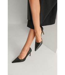 na-kd shoes sidoskurna pumps - black
