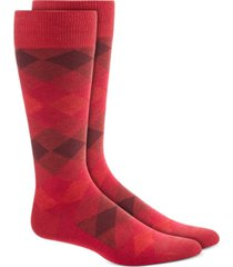 alfani men's diamond ombre socks, created for macy's