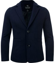 common heroes navy sweat blazer voor jongens in de kleur