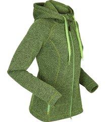 giacca lunga in pile (verde) - bpc bonprix collection