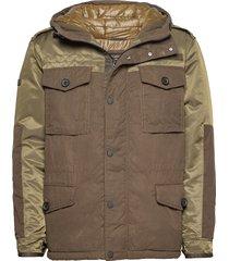 corporal field jacket gevoerd jack groen superdry
