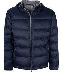 brunello cucinelli classic padded jacket
