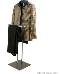 mind reader metal high quality valet suit rack stand