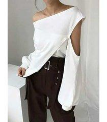 camicetta fashion plus cava monospalla taglia