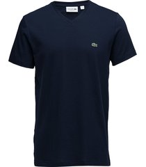 tee-shirt&turtle neck t-shirts short-sleeved blå lacoste