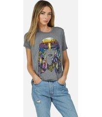 capri rainbow lady eagle - xl heather grey