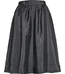 hall skirt 11244 knälång kjol svart samsøe samsøe