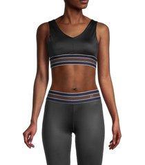 splendid women's sports bra - black - size xs