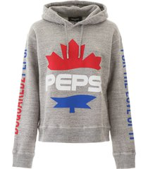 dsquared2 pepsi print hoodie
