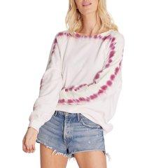 women's wildfox sommers sweatshirt, size small regular - green