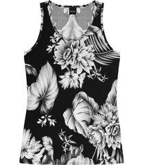 blusa rovitex regata preto - preto - feminino - dafiti