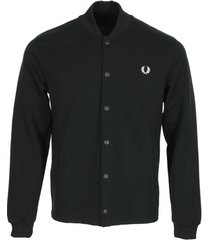 blazer fred perry bomber neck track jacket