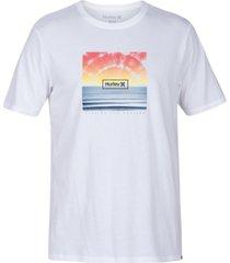 hurley men's horizon logo t-shirt