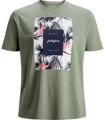 t-shirt jorflorall print tee ss crew neck p
