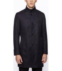 boss men's shanty1 slim-fit cotton coat