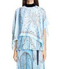 women's sacai dr. woo bandana print top