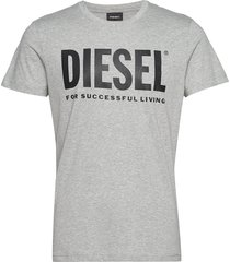 t-diego-logo t-shirt t-shirts short-sleeved grå diesel men