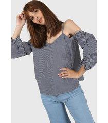 blusa gris laila renata