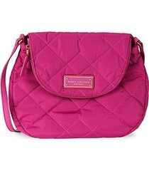 quilted pouch messenger bag