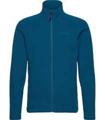 corsica 100gm fleece sweat-shirts & hoodies fleeces & midlayers blå musto