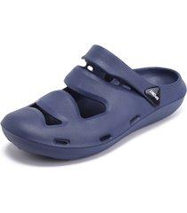 sandali da spiaggia per uomo, con cinturino sul tallone regolabile