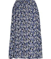 diana skirt knälång kjol blå nué notes