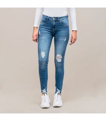 jean skinny talle medio fable