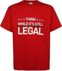 human rights t-shirt red