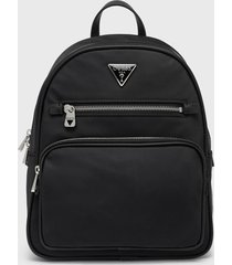mochila little bay backpack negro guess