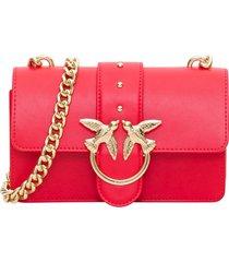 pinko love mini clutch